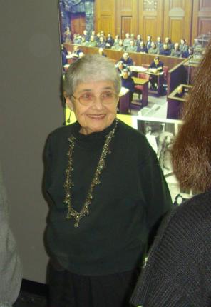 Foto der Holocaustüberlebenden Hedy Epstein