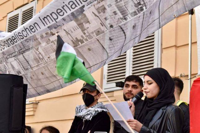 Redebeitrag - Demo gegen die Vertreibung der PalästinenserInnen aus Jerusalem